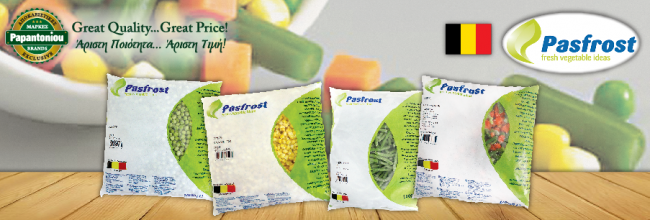 Pasfrost Frozen Vegetables and Legumes