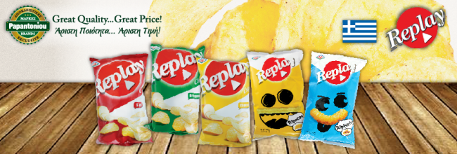 Replay Crisps and Puffs